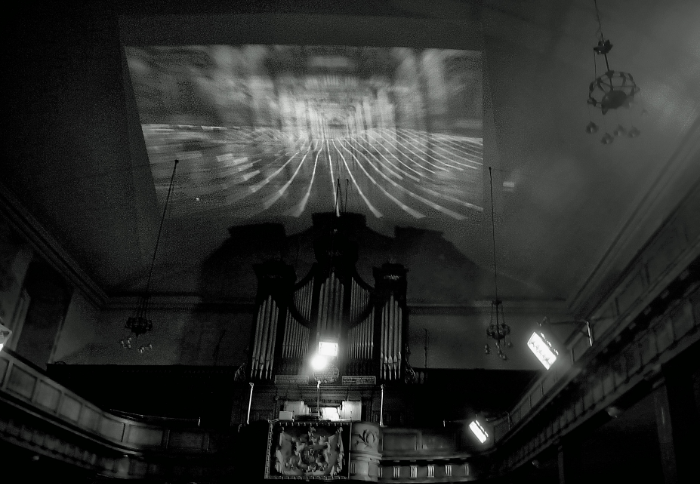 Re-Sounding Dublin, organ and video projection