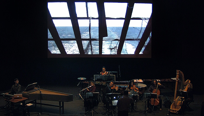 Dublin Sound Lab, Mirrors of Earth concert, Project Arts Centre, Dublin